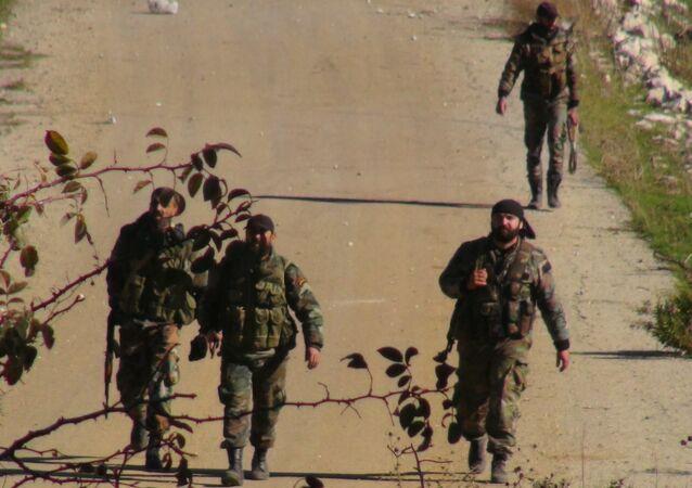 الجبش السوري يتقدم في ريف اللاذقية