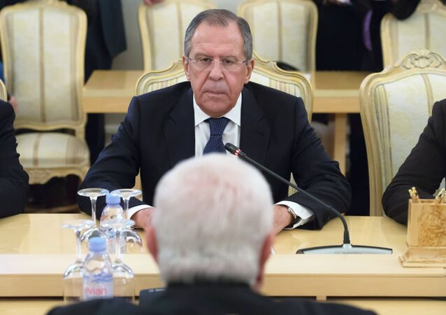 لقاء وزيري خارجية روسيا وسوريا سيرغي لافروف ووليد المعلم