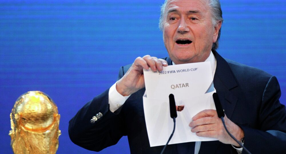 قطر تنظم كأس العالم 2022