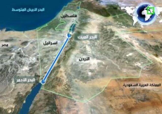 شق قناة تربط البحر الميت بالبحر الأحمر