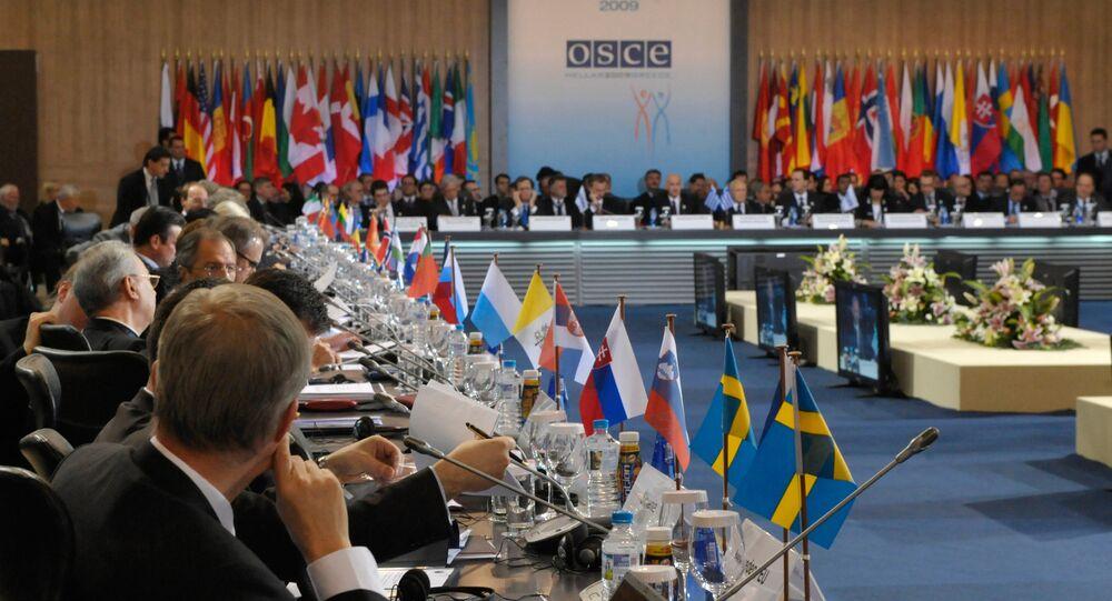 مجلس وزراء خارجية دول منظمة الأمن والتعاون في أوروبا