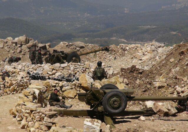 الجيش السوري على مقربة من الحدود التركية