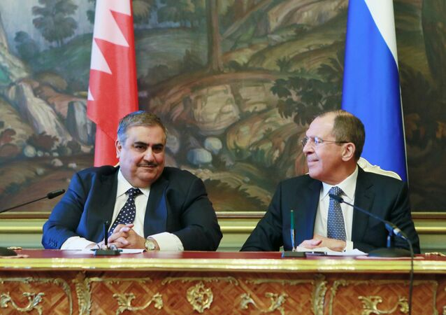 لقاء وزيري خارجية روسيا والبحرين