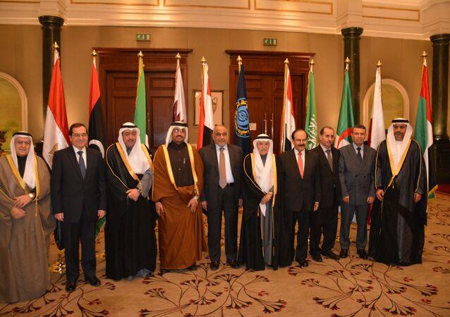 وزراء بترول أوابك المشاركين فى  المؤتمر