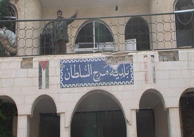 الجيش السوري في الغوطة