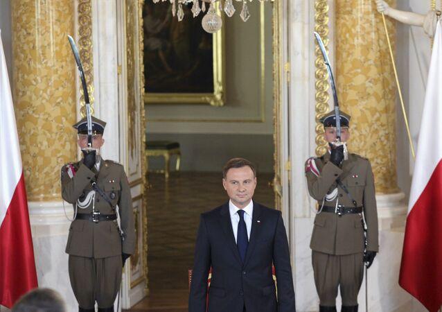 الرئيس البولندى أندرى دودا