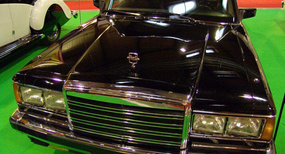 سيارة الرئيس الروسي السابق بوريس يلتسين ماركة زيل-41052