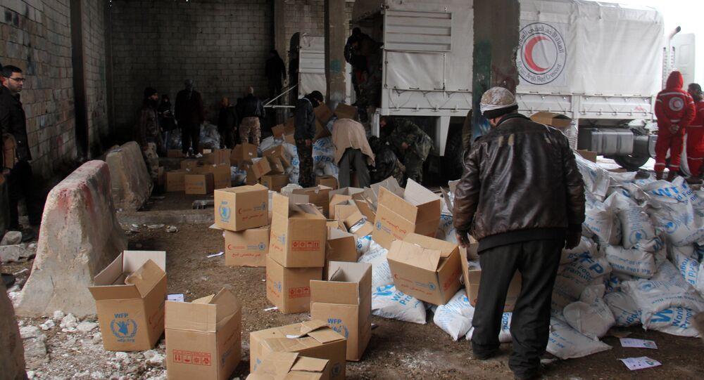 مساعدات إنسانية