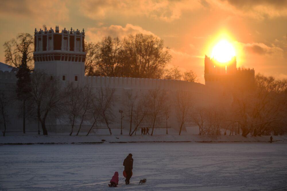 موسكو وفصل الشتاء