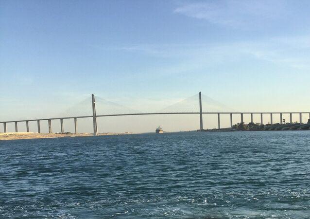 جسر السلام ـ شبه جزيرة سيناء ـ مصر