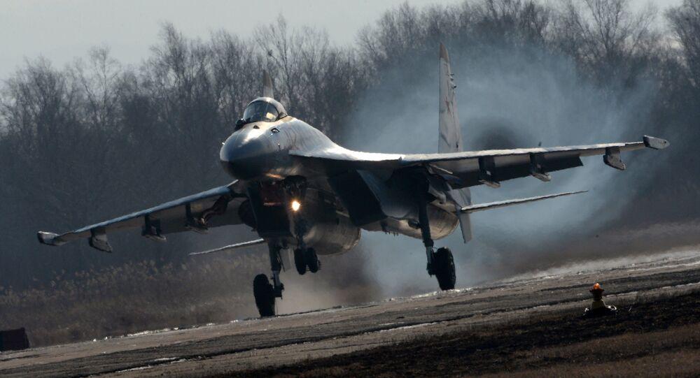 المقاتلة سو - 35 اس