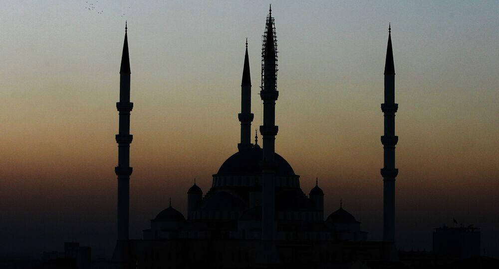 أحد مساجد أنقرة