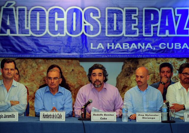 مباحثات السلام الكولومبية برعاية كوبية