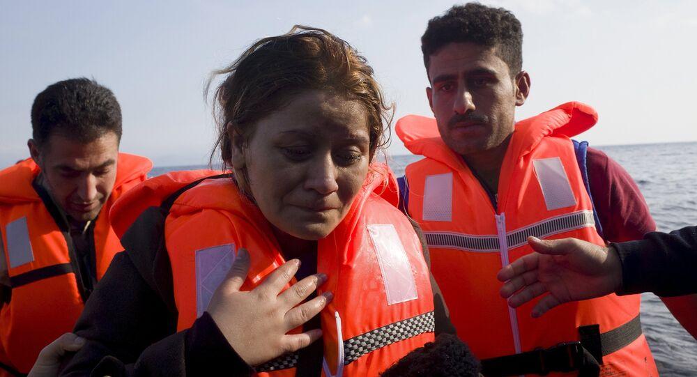 النساء في رحلة اللجوء