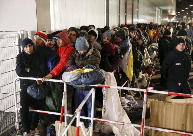 لاجئون في برلين