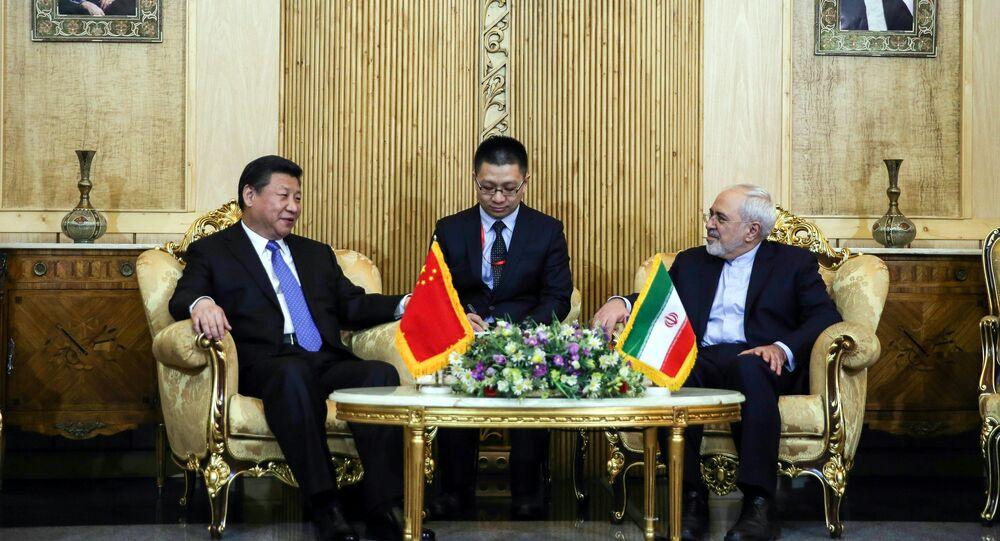 الرئيس الصيني في طهران