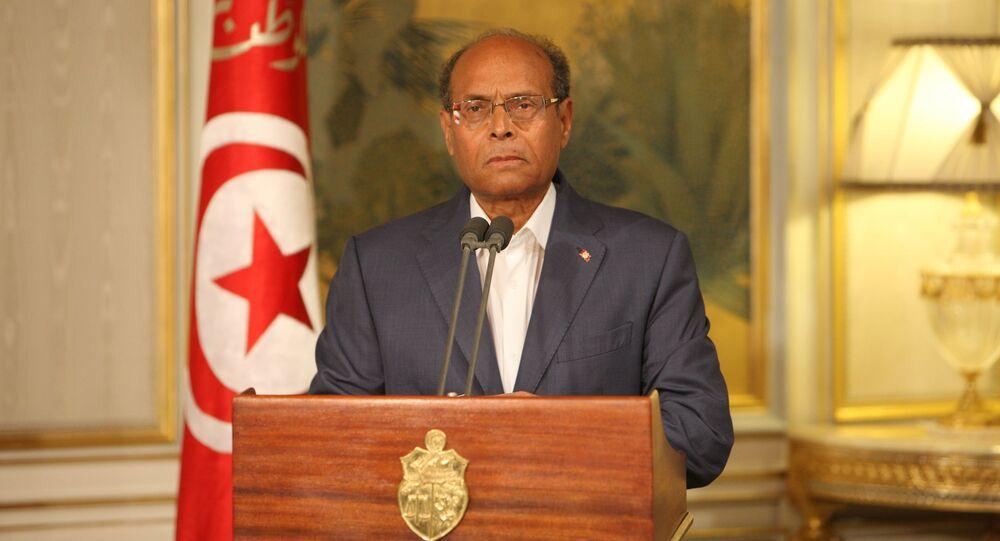 للرئيس التونسي السّابق محمّد المنصف المرزوقي