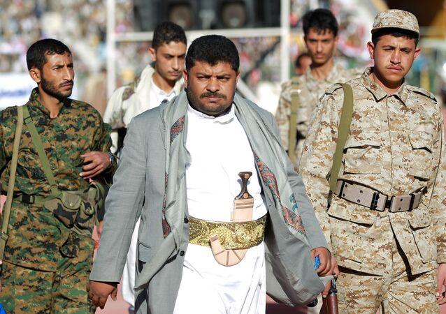 رئيس اللجنة الثورية العليا في اليمن محمد علي الحوثي