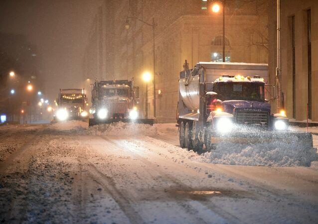 واشنطن والثلوج
