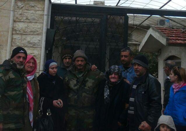 عودة مختطفات سوريا الى ديارهن