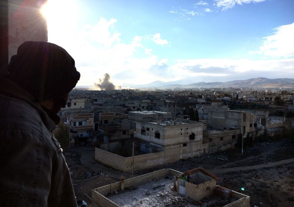 الحرب على كل شبر من الوطن: مواقع قوات الجيش العربي السوري في داريا