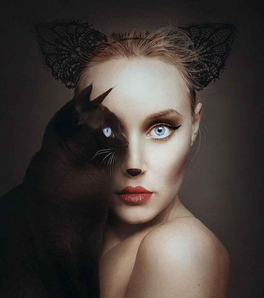 عندما تتآلف عيون الإنسان والحيوان