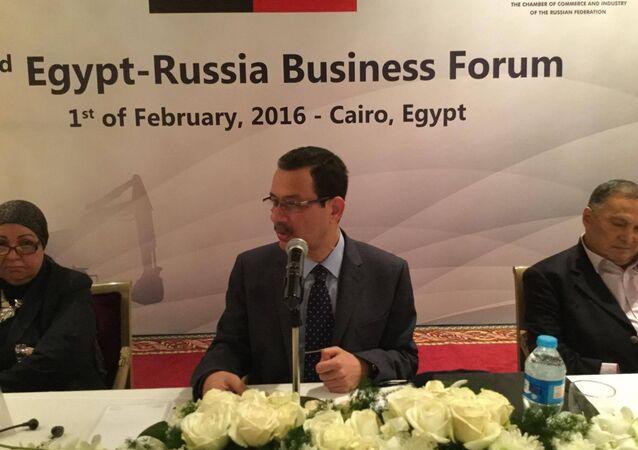أحمد درويش ـ رئيس مجلس إدارة الهيئة العامة للمنطقة الاقتصادية لقناة السويس