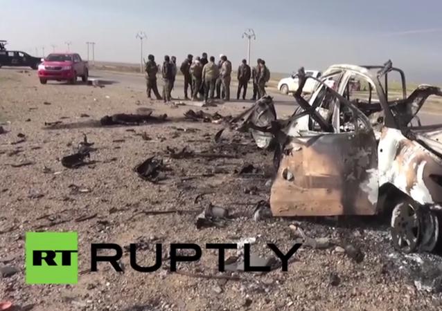 أنظر ماذا فعلت القوات العراقية بعد عملية عسكرية ضد داعش