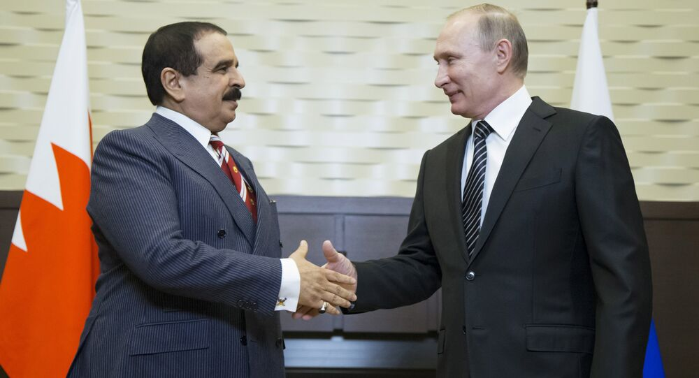 بوتين وملك البحرين