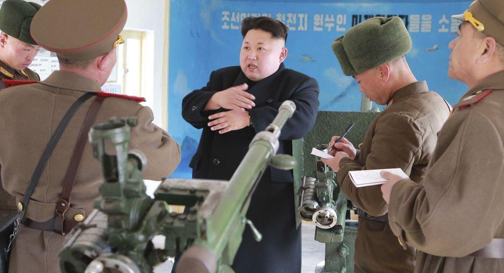 الرئيس الكوري الشمالي يزور إحدى وحدات الجيش الشعبي الكوري