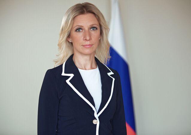 المتحدثة باسم الوزارة الخارجية الروسية ماريا زاخاروفا