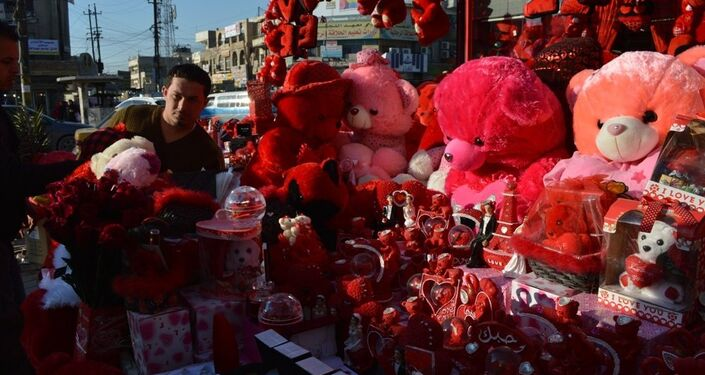 عيد الحب فى بغداد