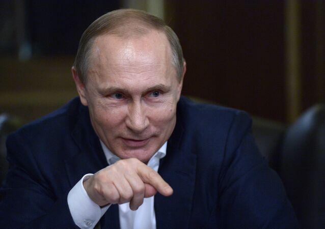 الرئيس الروسي فلاديمي ربوتين