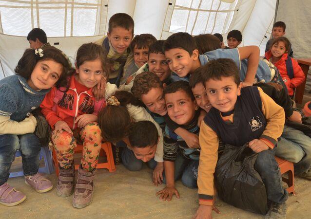 أطفال سوريا فى لبنان