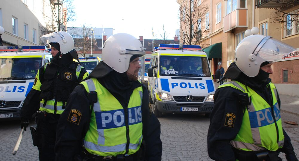 الشرطة السويدية