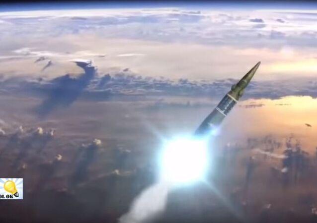 اطلاق صاروخ نووى روسى
