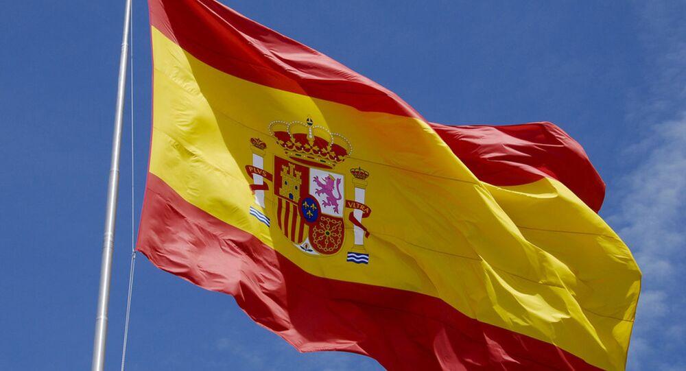 العلم الإسباني
