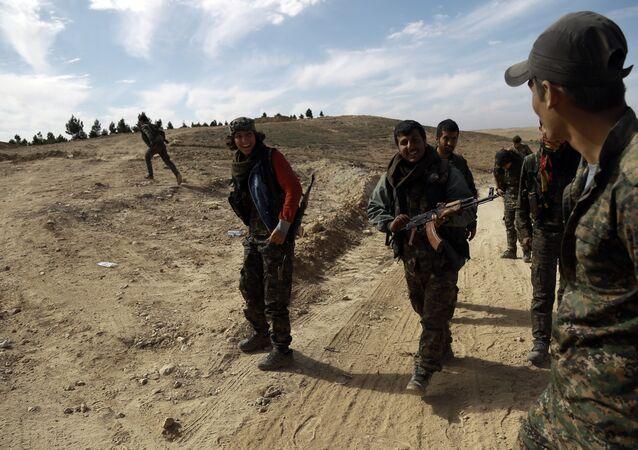 القوات الكردية