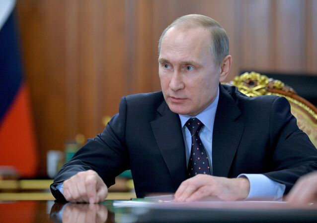 الرئيس الروسي فلايديمير بوتين