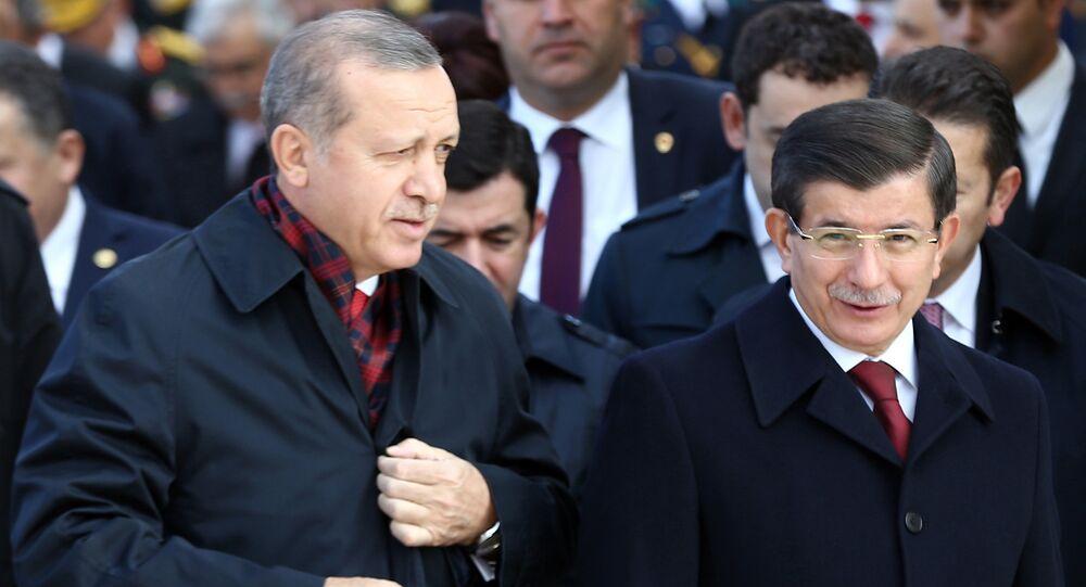 رجب طيب أردوغان وداوود أوغلو