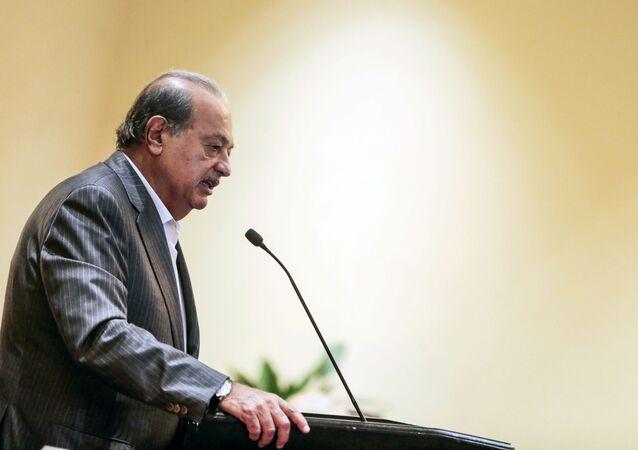 كارلوس سليم - رجل أعمال وملياردير مكسيكي