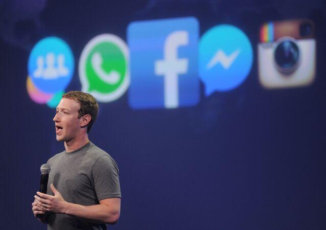 مارك زوكربيرغ - مؤسس شبكة التواصل الاجتماعي فيسبوك
