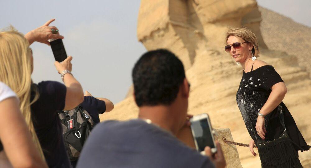 سياح فى مصر