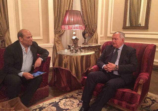 رئيس لجنة العلاقات الخارجية بالبرلمان المصري ـ حوار مراسل سبوتنيك بالقاهرة