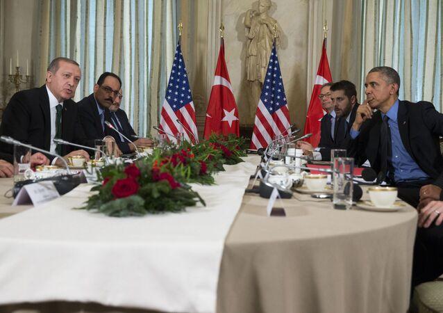 لقاء أوباما وأردوغان