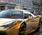 سيارات مغطاة بماء الذهب