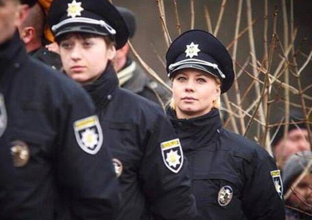 ضابطة أوكرانية