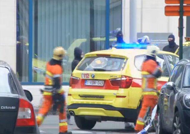 تفجير مترو الأنفاق في بروكسل