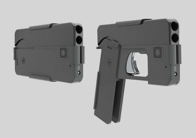 مسدس - تلفون