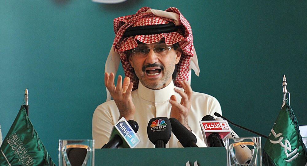 الأمير السعودي الوليد بن طلال